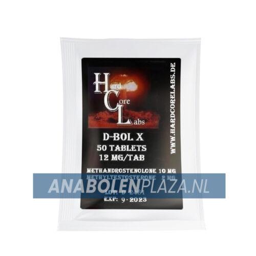 D-Bol X Methandrostenolone Dianabol - Hardcorelabs